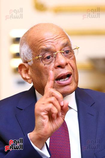 أول حوار مع الدكتور على عبد العال رئيس مجلس النواب بعد إنجاز التعديلات الدستورية (11)