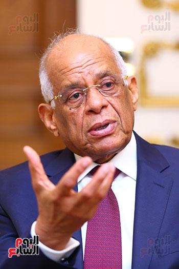 أول حوار مع الدكتور على عبد العال رئيس مجلس النواب بعد إنجاز التعديلات الدستورية (16)