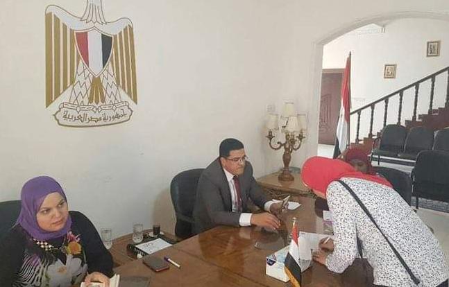 السفارات تفتح أبوابها لاستقبال المصريين للمشاركة فى الاستفتاء