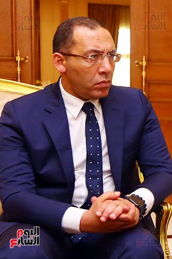 أول حوار مع الدكتور على عبد العال رئيس مجلس النواب بعد إنجاز التعديلات الدستورية (28)