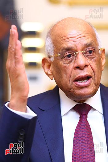 أول حوار مع الدكتور على عبد العال رئيس مجلس النواب بعد إنجاز التعديلات الدستورية (9)