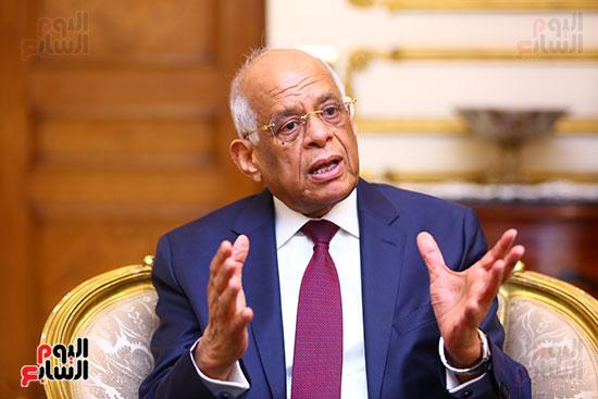 أول حوار مع الدكتور على عبد العال رئيس مجلس النواب بعد إنجاز التعديلات الدستورية (3)