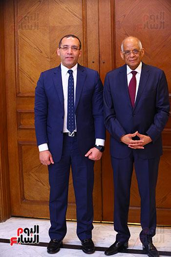 أول حوار مع الدكتور على عبد العال رئيس مجلس النواب بعد إنجاز التعديلات الدستورية (24)
