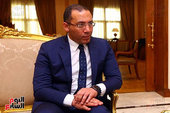 أول حوار مع الدكتور على عبد العال رئيس مجلس النواب بعد إنجاز التعديلات الدستورية (1)