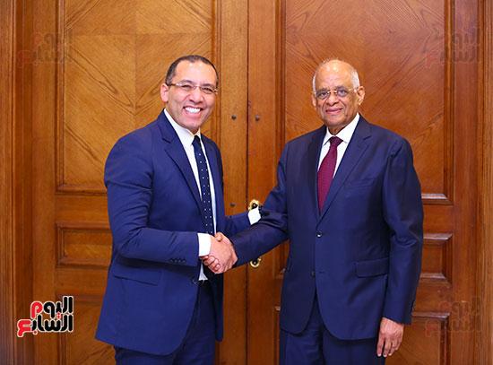أول حوار مع الدكتور على عبد العال رئيس مجلس النواب بعد إنجاز التعديلات الدستورية (25)