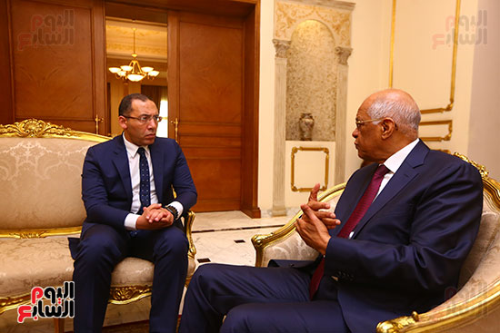 أول حوار مع الدكتور على عبد العال رئيس مجلس النواب بعد إنجاز التعديلات الدستورية (18)