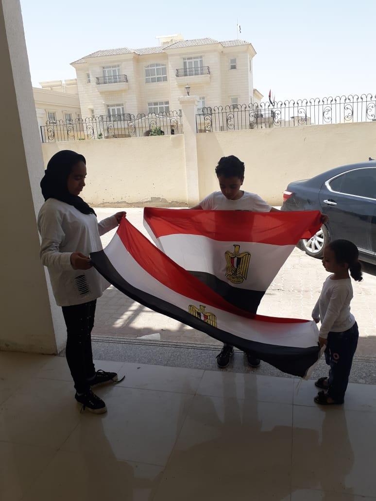 المصريون فى ابو ظبى