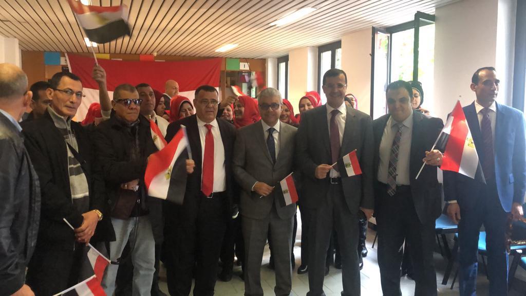 المصريين فى ميلانو