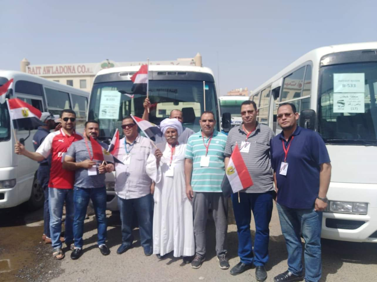 المصريون بالكويت يشاركون فى الانتخابات بالكويت