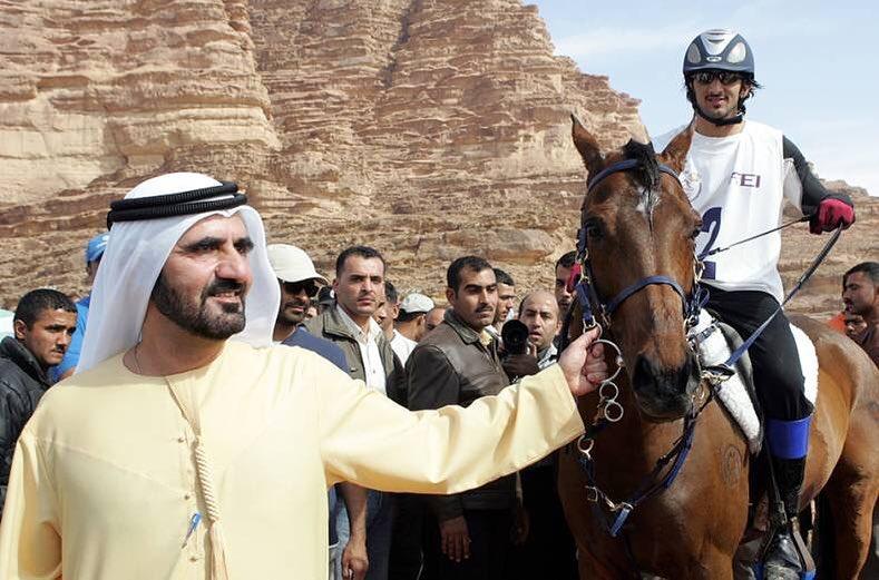 حاكم دبى يستعيد ذكرياته مع نجله البكر راشد بن محمد بن راشد آل مكتوم