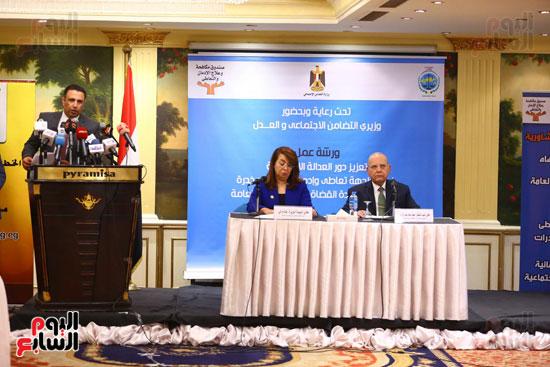 بروتوكول تعاون بين وزارة التضامن وصندوق مكافحة الادمان (5)