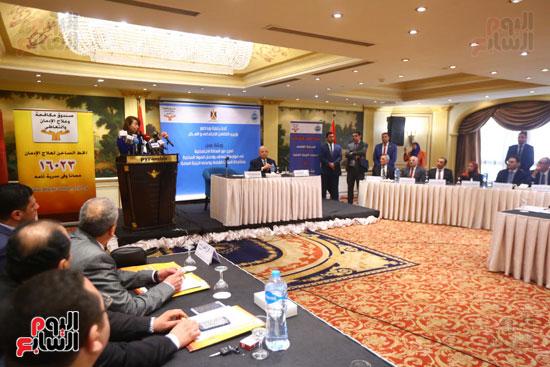 بروتوكول تعاون بين وزارة التضامن وصندوق مكافحة الادمان (10)