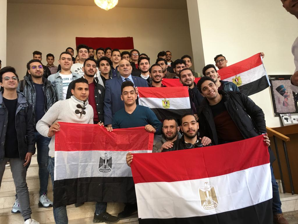 المصريين فى موسكو (1)