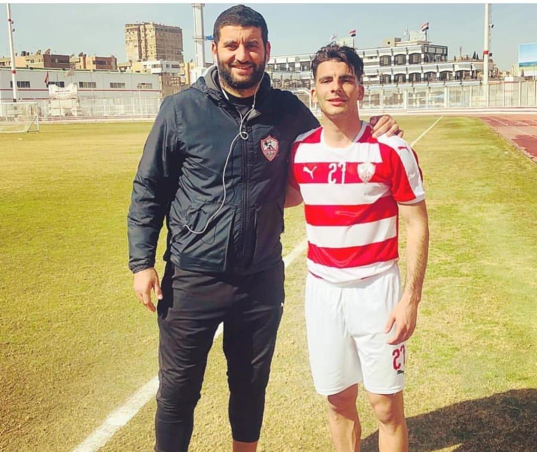 أمير عزمى مجاهد و أحمد زيزو لاعب الزمالك