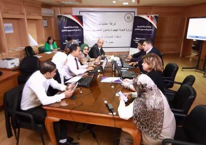 غرفة عمليات وزارة الهجرة