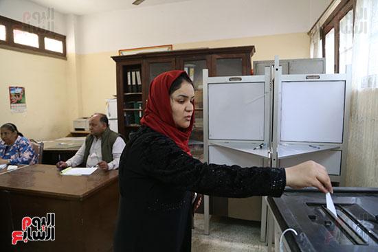 اللجان الانتخابية بالقاهرة (20)