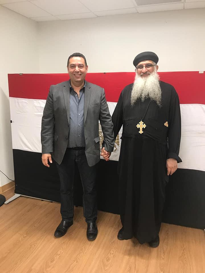 مشاركة المصريين فى نيويورك باستفتاء التعديلات الدستورية