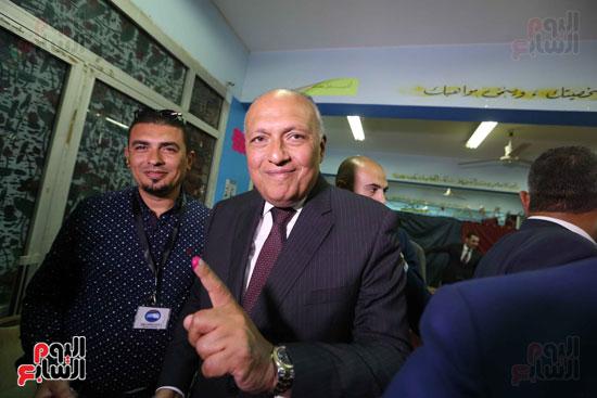 وزير الخارجية يشارك في التعديلات الدستورية (11)