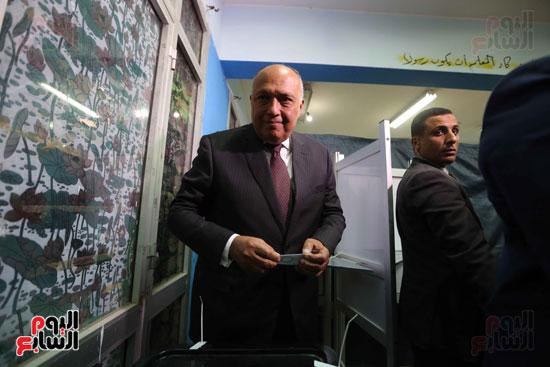 وزير الخارجية يشارك في التعديلات الدستورية (7)