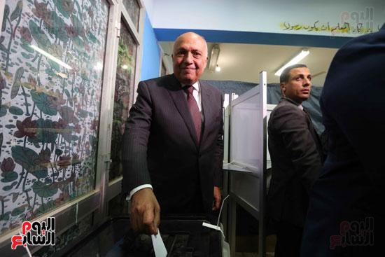وزير الخارجية يشارك في التعديلات الدستورية (9)