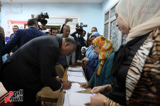 وزير الخارجية يشارك في التعديلات الدستورية (3)