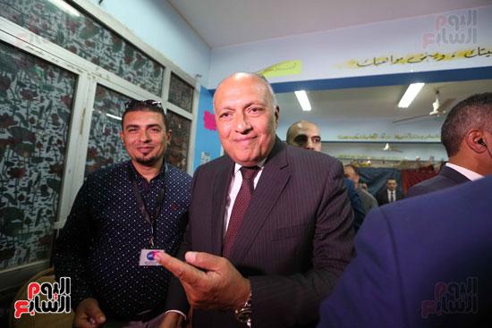 وزير الخارجية يشارك في التعديلات الدستورية (10)