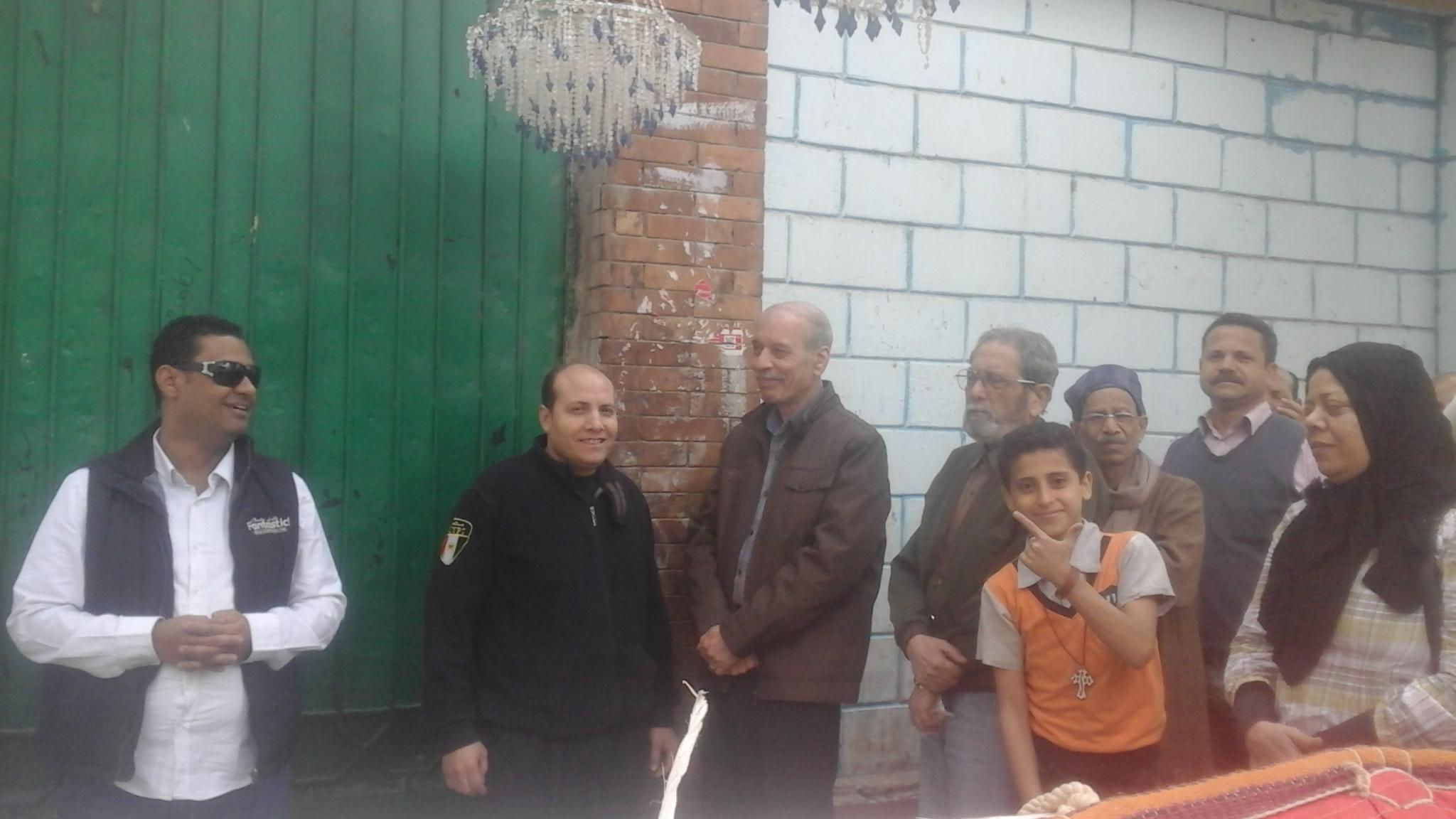 إقبال المواطنين على اللجان  بإمبابة (4)