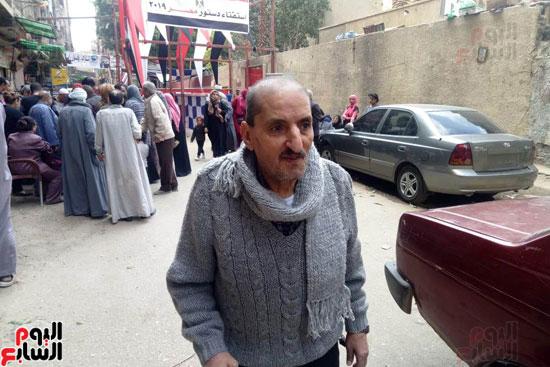 إقبال كبير للمواطنين على لجان الاستفتاء بعين شمس (3)