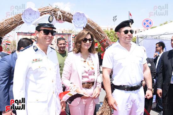 نبيلة مكرم وزيرة الهجرة (3)