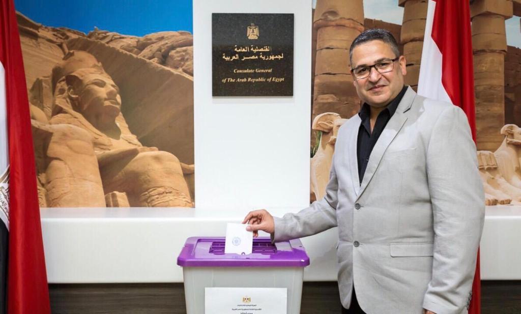 تصويت المصريين فى سيدنى