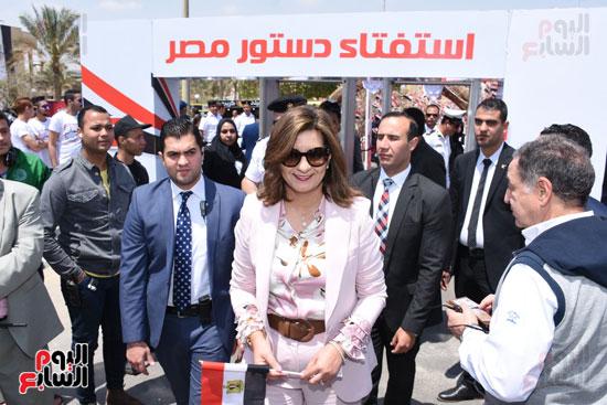نبيلة مكرم وزيرة الهجرة (2)