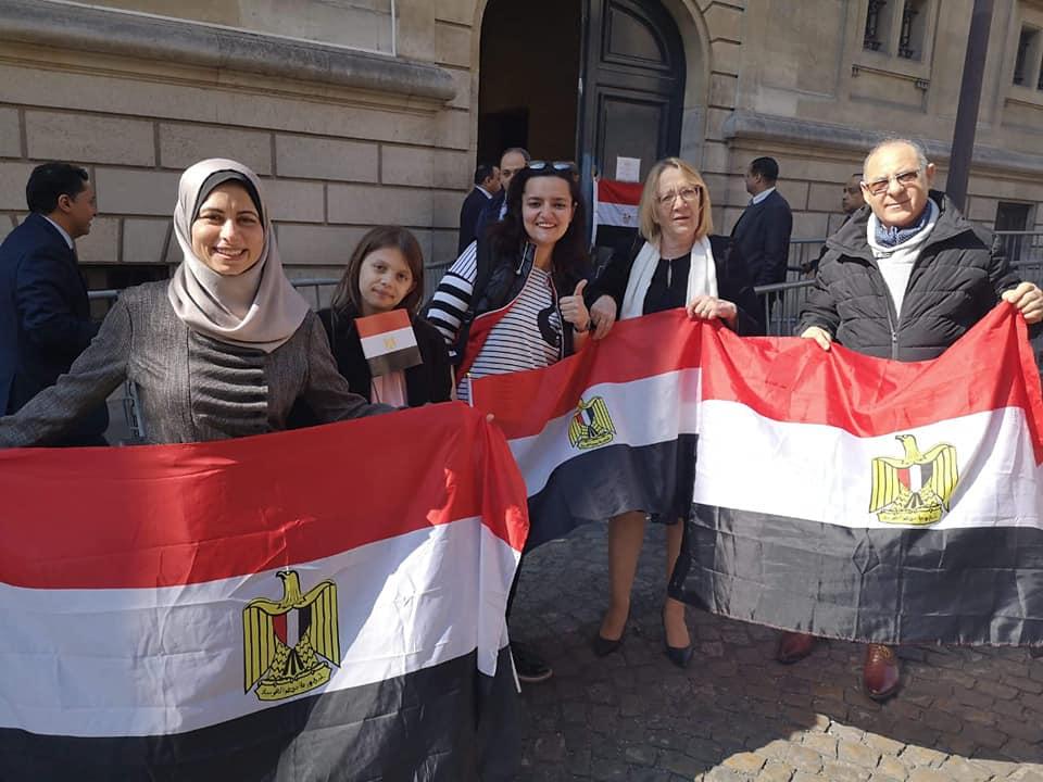 المصريون فى باريس
