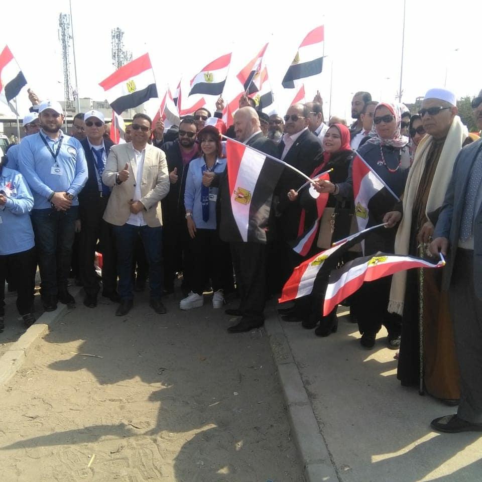 أجواء احتفالية فى مدن القاهرة الجديدة (1)