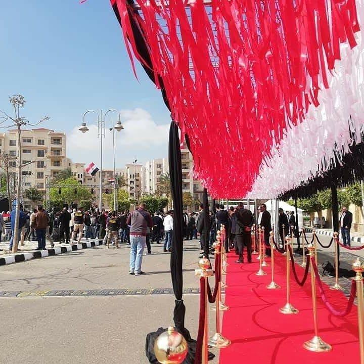 أجواء احتفالية فى مدن القاهرة الجديدة (2)