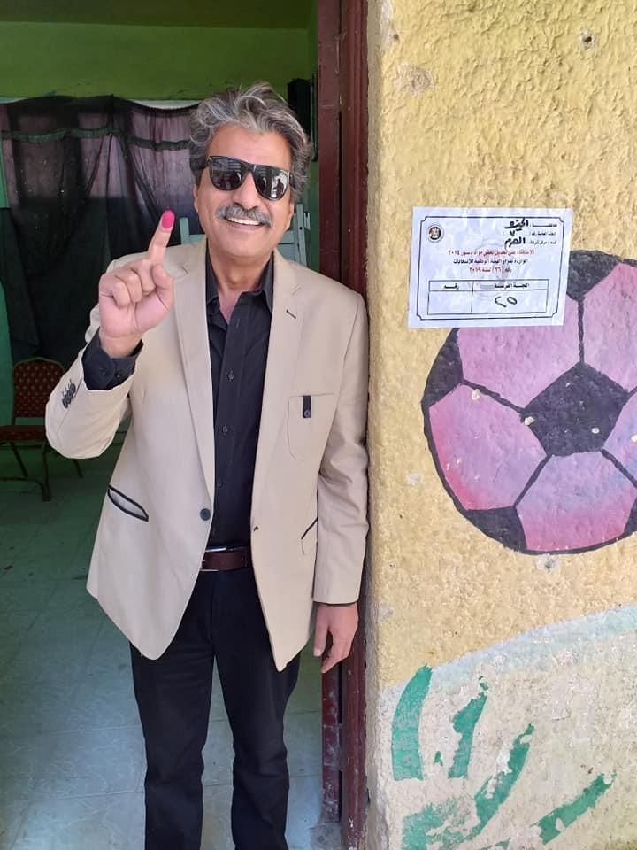 جمال عبد الناصر يدلى بصوته