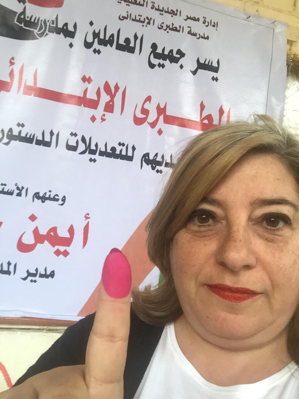 المصريون الأرمن يشاركون فى الاستفتاء على التعديلات الدستورية (2)