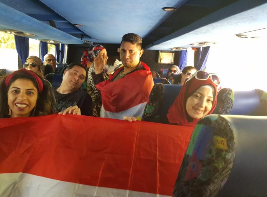 جانب من مشاركة المصريين للتصويت فى هولندا