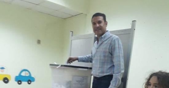 محمد العقدة عضو مجلس إدارة نادى الصيد