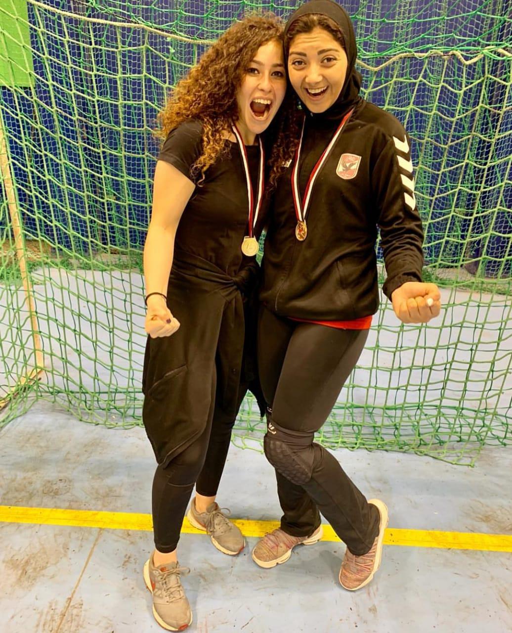 فريق الأهلى سيدات لكرة اليد (7)