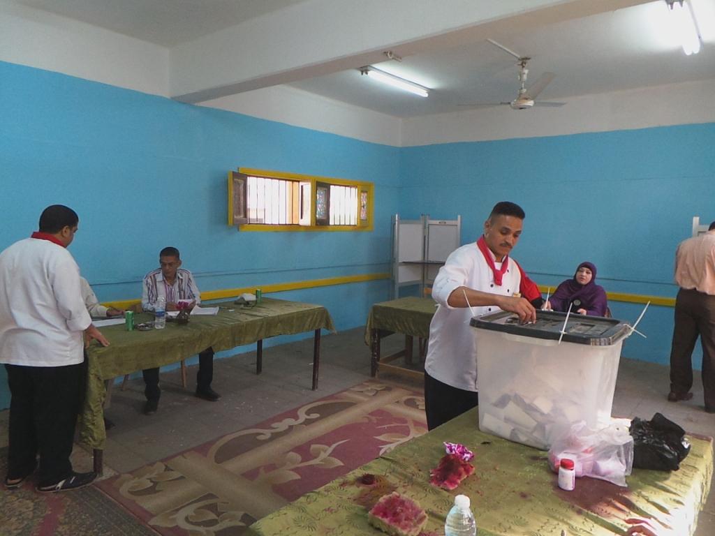 العاملون بالسياحة أثناء التصويت (4)