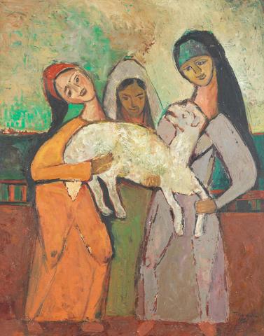 لوحة عيد الاضحى