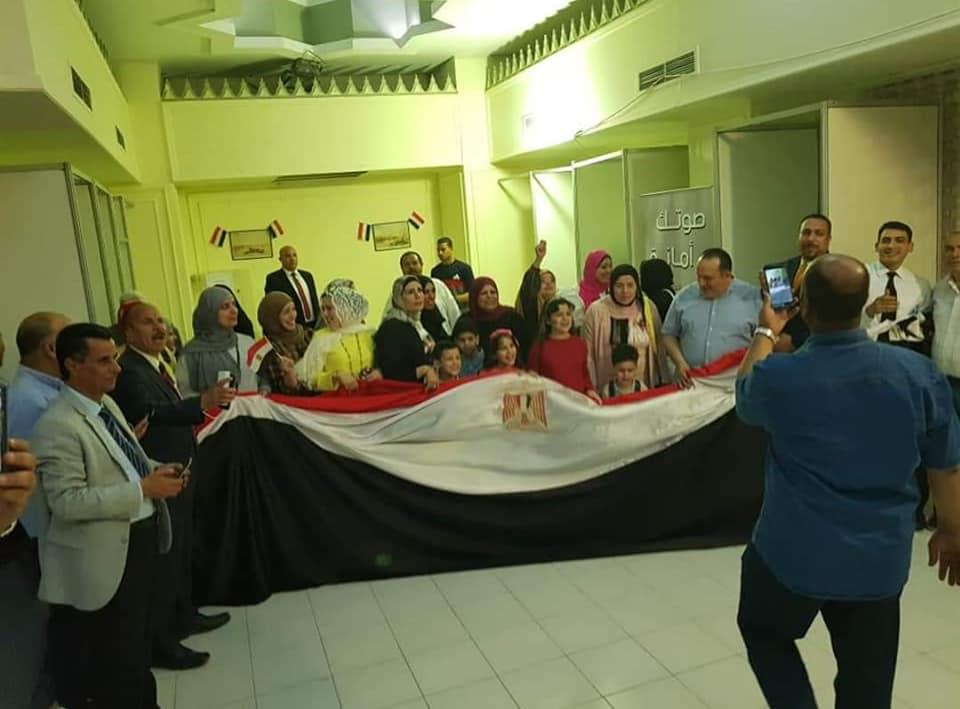 تزايد إقبال المصريين على المشاركة فى آخر أيام التصويت