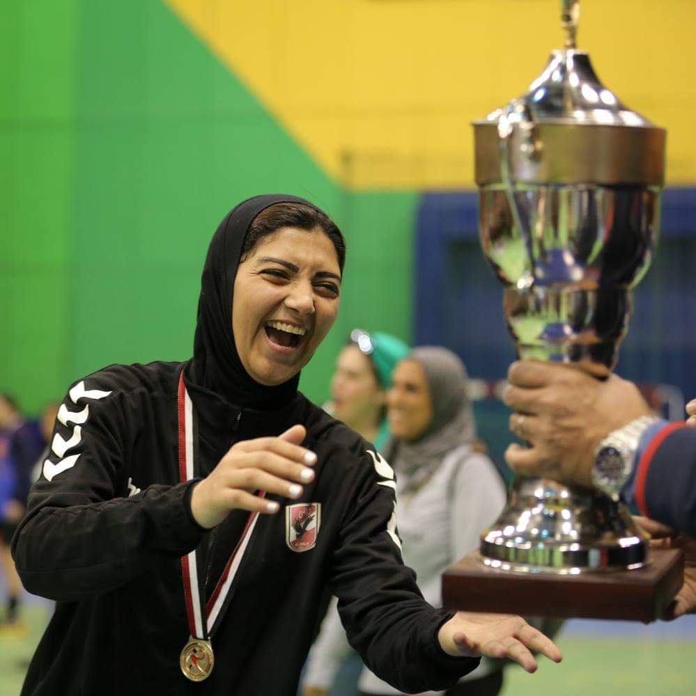 فريق الأهلى سيدات لكرة اليد (5)