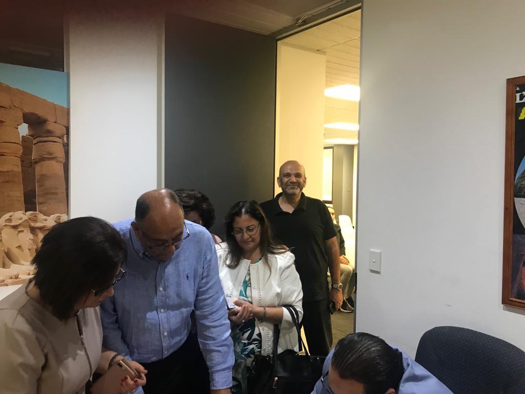 إقبال المصريين المشاركة فى التصويت فى أخر الأيام المخصصة للخارج