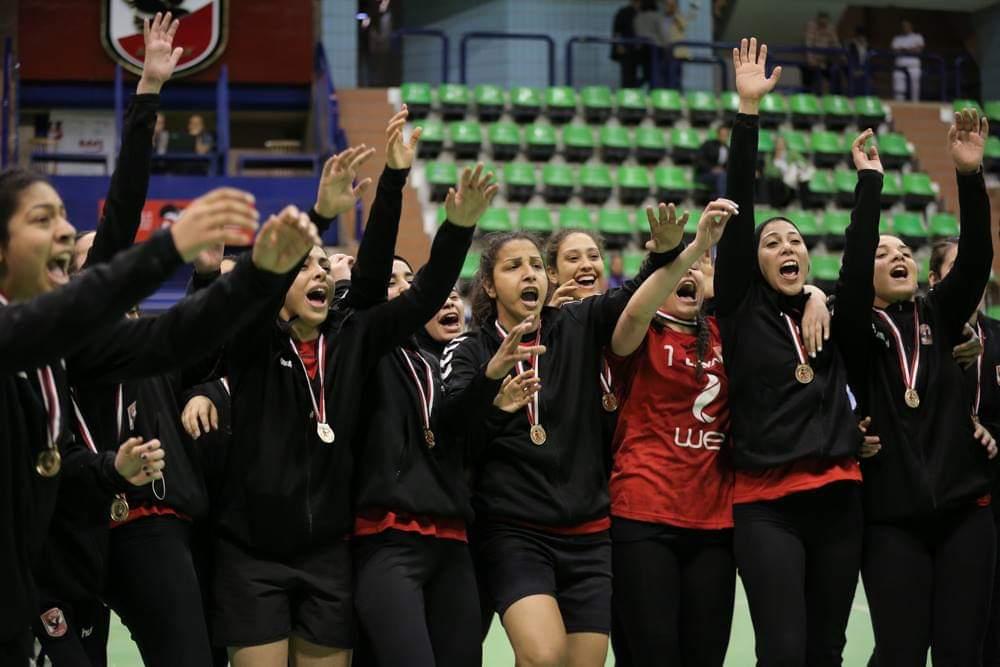 فريق الأهلى سيدات لكرة اليد (4)
