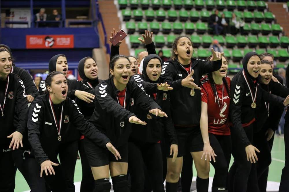 فريق الأهلى سيدات لكرة اليد (3)