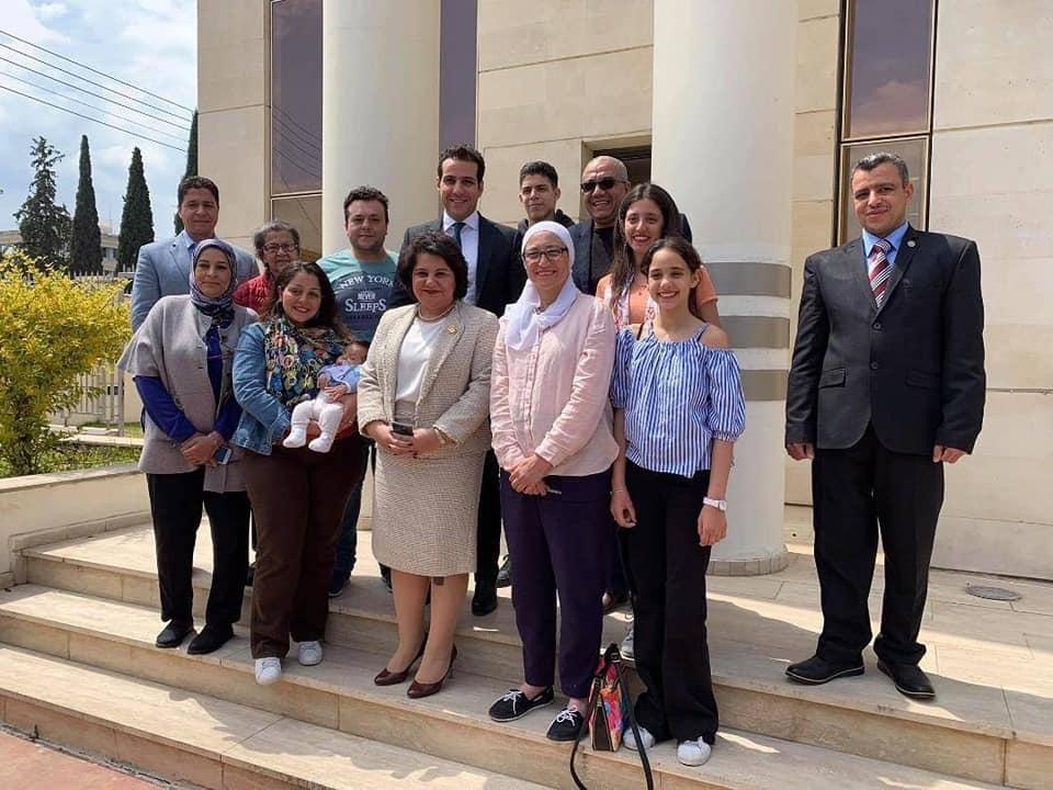المصريون فى قبرص يشاركون فى الاستفتاء على تعديل الدستور