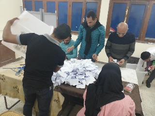 بدء أعمال الفرز في لجان الوادي الجديد بعد انتهاء موعد التصويت (4)
