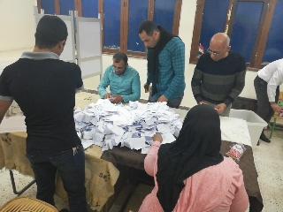بدء أعمال الفرز في لجان الوادي الجديد بعد انتهاء موعد التصويت (5)