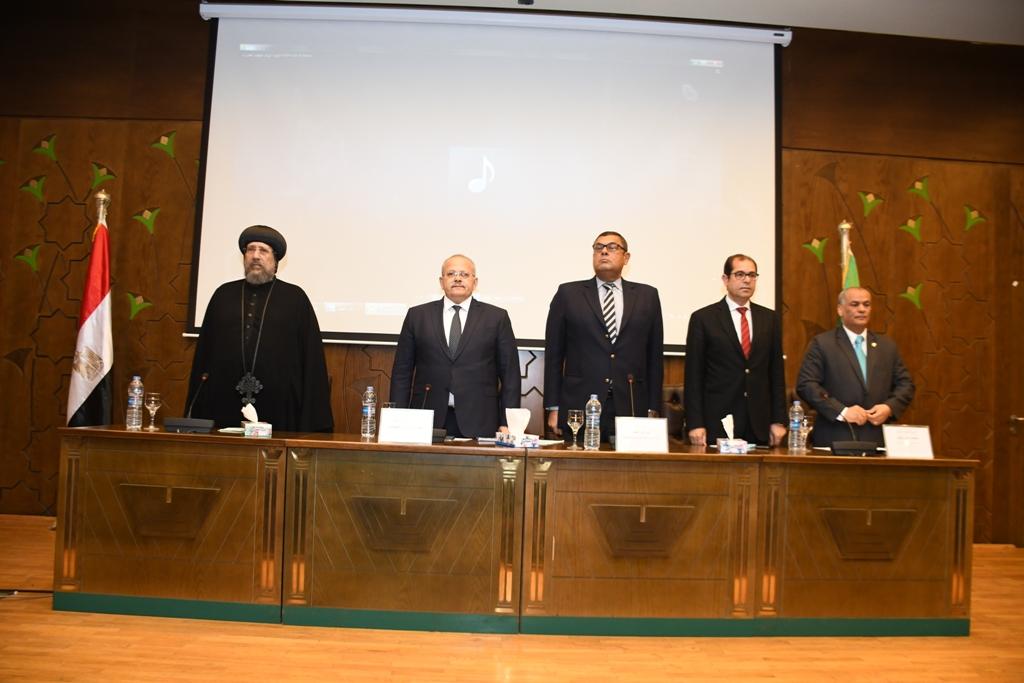 خلال افتتاح المؤتمر الدولي مصر والتنمية المستدامة في إفريقيا (3)